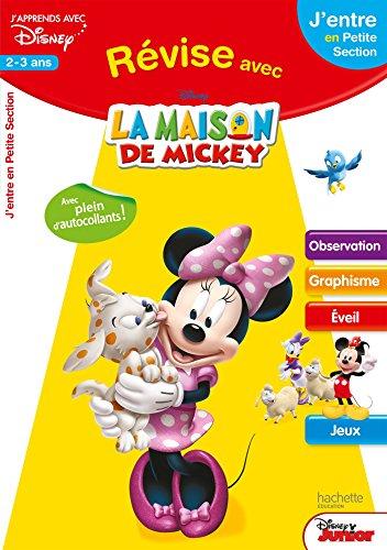 Révise avec Mickey - de la TPS à la PS - Cahier de vacances