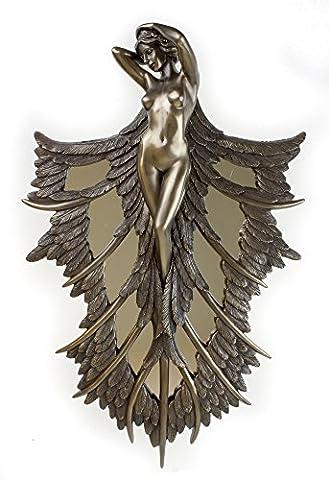 ANGELIC SPLENDOUR ART NOUVEAU REPRODUCTION ANGEL WALL PLAQUE /