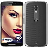 mtb more energy® Schutz-Hülle Clear & Slim für Motorola Moto X Play (5.5'') | transparent | flexibel | TPU Case Schutz Hülle Tasche