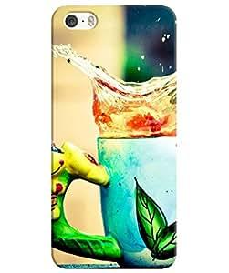 FurnishFantasy 3D Printed Designer Back Case Cover for Apple iPhone SE