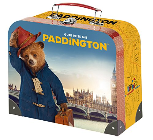 Paddington Bear 608 474 - Spieltruh - Kinderköfferchen con Motivo