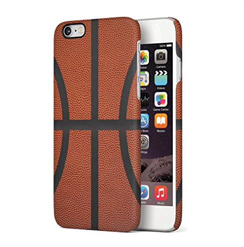 Basketball Arena Pattern Apple iPhone 6 / iPhone 6S SnapOn Hard Plastic Phone Protective Custodia Case Cover Basketball Ball