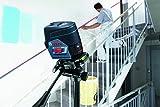Bosch Professional 0601066G03 Laser Points et Lignes GCL 2-50 C avec Support Rotatif RM2, 12 V, Noir/bleu