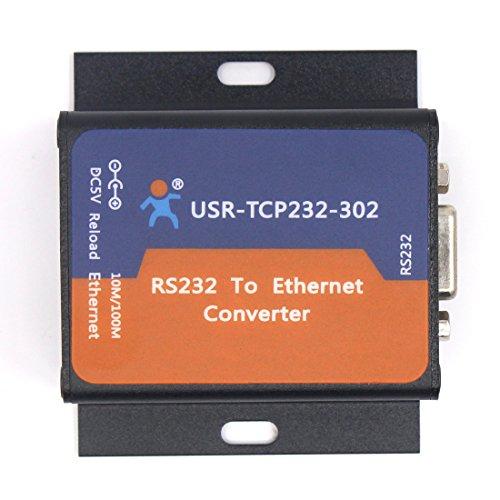 USR-TCP232-302 Tiny Größe Seriell RS232 zu Ethernet TCP-IP-Server-Modul Ethernet Converter Unterstützung DHCP / DNS Rx Rack