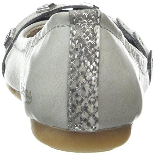 Dockers34Je211-620210 - Ballerine Donna Grigio (Gris (Hellgrau 210))
