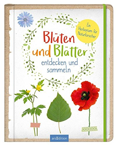 Blüten und Blätter entdecken und sammeln: Ein Herbarium für Naturforscher