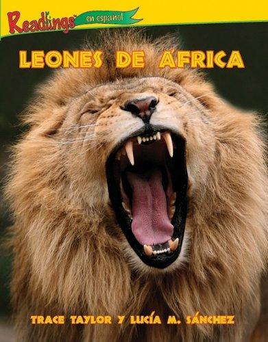 Leones de Frica (Lions of Africa) (Animales De Africa/Animals of Africa) por Trace Taylor