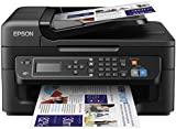 Epson WorkForce WF-2630 Compact 4-in-1 Printer with Wi-Fi and features for home offices - Black