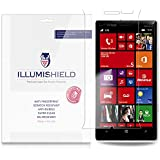 iLLumiShield - Nokia Lumia 929 / Nokia Lumia Icon Screen Protector Japanese Ultra Clear HD Film with Anti-Bubble and Anti-Fingerprint - High Quality (Invisible) LCD Shield - Lifetime Replacement Warranty - [3-Pack] OEM / Retail Packaging (For: Verizon)