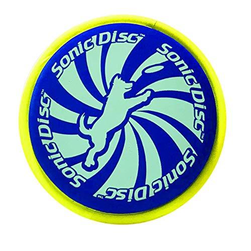 Wjj 2 Unids Anti-Puncture Pet Dog Frisbee, Material de Eva...