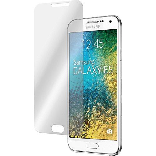 PhoneNatic 2 x Glas-Folie klar kompatibel mit Samsung Galaxy E5 - Panzerglas für Galaxy E5