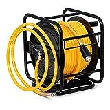 MSW PRO-A 30 Druckluftschlauch Aufroller Schlauchtrommel Luft Schlauchaufroller 30 m 18 bar
