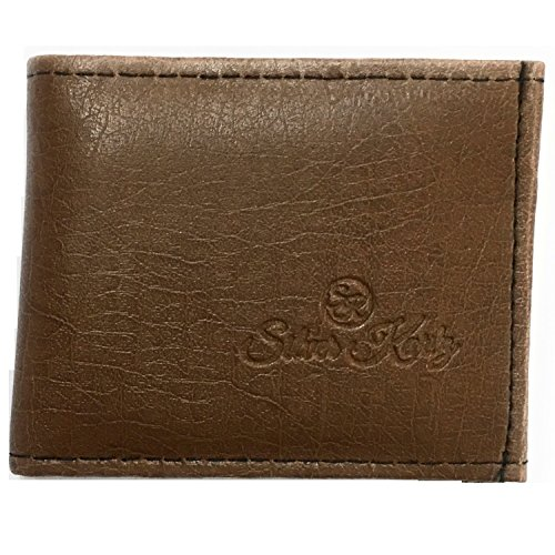 Silver Kartz Men's Tan Brown Rugged Genuine Leather Wallet (taj-003)  available at amazon for Rs.144