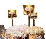 12 pezzi Senza Fiamma Barlume Tealights / Candele Galleggianti per Centrotavola, COUTUDI Lunga vita Acqua Attivata GUIDATO Tea Lights per il Matrimonio Festa Decorazioni Floreali Batteria Inclusa (Caldo Giallo)