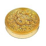 LOR Chinesischer Drache Gold winddicht Metall Medaille Feuerzeug USB aufladbare elektronische Zigarette Zigarre Clipper Feuerzeug