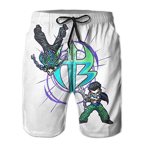 Hardy Kids Boys T-shirt (ZKHTO Beach Volleyball Shorts Jeff Hardy Logo Beach Pants Shorts for Men Boys, Outdoor Short Pants Beach Accessories,Shorts Size L)