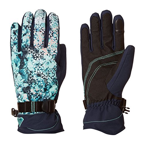 Roxy Damen Jetty-Snowboard/Ski Gloves, Aruba Blue, M
