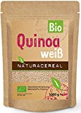 NATURACEREAL bio quinoa Color Blanco, 1er Pack (1x 1kg)
