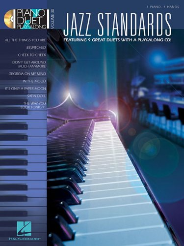 Jazz Standards: Piano Duet Play-Along Volume 30