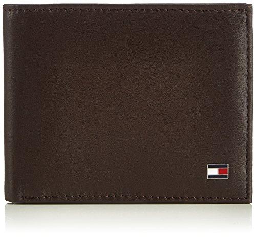 Tommy Hilfiger Herren ETON MINI CC WALLET Geldbörsen, Braun (BROWN 204), 11x9x2 cm