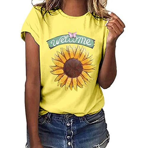 Junjie Damen Frauen Mädchen Plus Size Lips Print Kurzarm T-Shirt Bluse Tops Spitze große größen grün blusenkleid blusenshirt Schwarz, Rot, Blau, Weiß, Grau, Grün, Gelb -