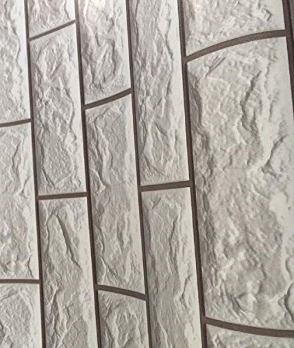 Tapeten 10 m x 45 cm Folie Art. 3001 selbstklebend 5 Motive Steinoptik Steine Dekorfolie Möbelfolie … (Art X 5 5)