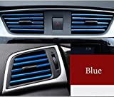 FIOLTY Car air conditioning air outlet decorative strips modified Interior ings U-shaped clip
