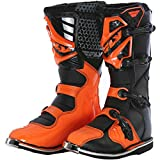 364-56912 - Fly Racing 2016 Maverik Motocross Boots US 12 Black Orange (UK 11)