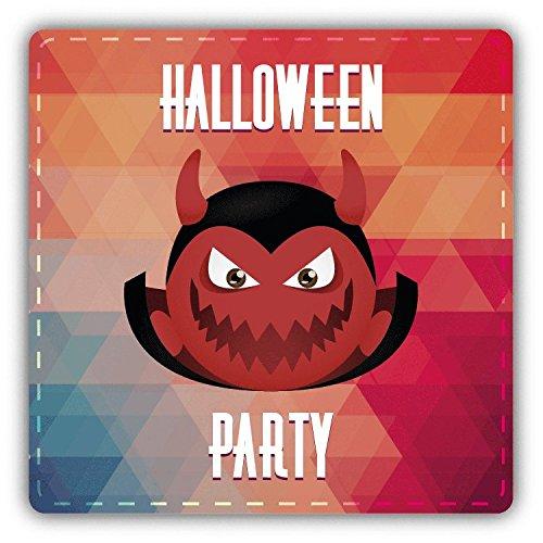 Dracula Smile Halloween Party Slogan Hochwertigen Auto-Autoaufkleber 12 x 12 cm (Party Für Eine Halloween Slogans)