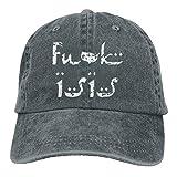 YYERINX Cowboy Hat Trucker Cap for Men Women USA Fuck Isis