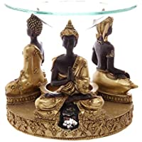 NN Thai Buddha Duftlampe Figur Statue Buddafigur Feng Shui Buddhismus Thaibuddha