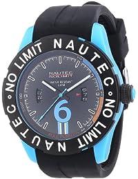 Nautec No Limit Herren-Armbanduhr XL Zero-Yon 2 Analog Quarz Kautschuk ZY2-B QZ/RBPCBKBK-BL