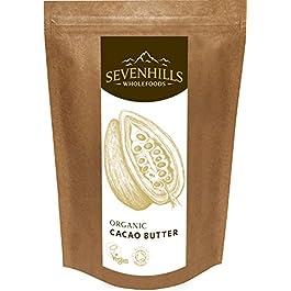Sevenhills Wholefoods Burro Di Cacao Bio, Wafers 1kg