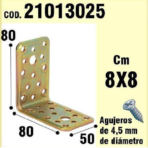 WOLFPACK 21013025 Soporte Madera Ángulo 50x80x80