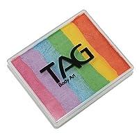Tag Body Art Split Cakes - Pearl Rainbow (50 Gm)