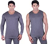 DREAMDROP WARMERS MEN GREY FULLSLEEVES A...