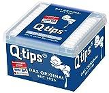 Q-Tips Pflegestäbchen/Wattestäbchen, 3er Pack (3 x 206 Stäbchen)