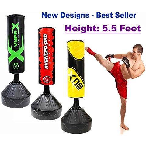 1,7m per sacco da boxe da allenamento per boxe, Kickboxing MMA Muay Thai Arti Marziali B-Series,
