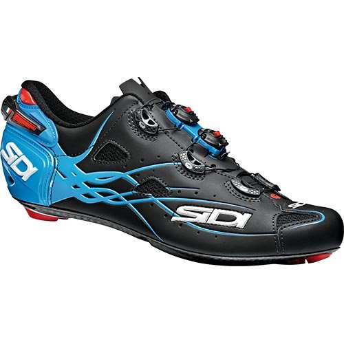 Sidi Shot, 40 EUR [US 7], Matt Black/Light Blue
