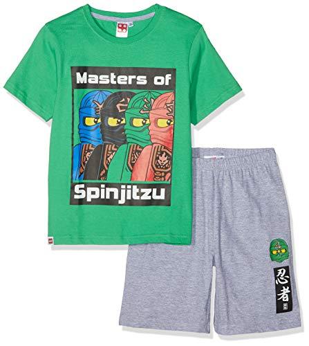 LEGO Ninjago Jungen 5534 Zweiteiliger Schlafanzug, Grün, 116