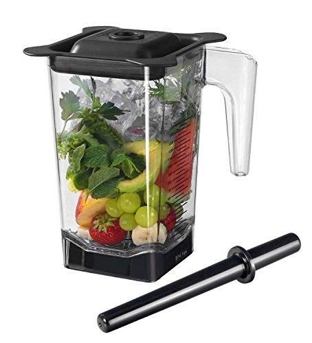1,5 Liter Behälter / Ersatzbehälter für den Pofi YaYago Smoothie Maker Power Mixer Blender Icecrusher 1,5 l inkl. Schneidemesser, Stößel und Deckel / Omniblend V Behälter -