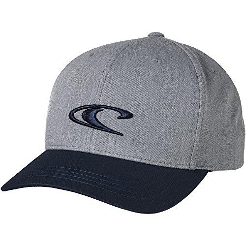O'Neill Herren Bm Wave Cap Streetwear Kappen, Silver Melee, One Size