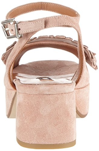 Zinda Damen 2911 Offene Sandalen Pink (Nude)
