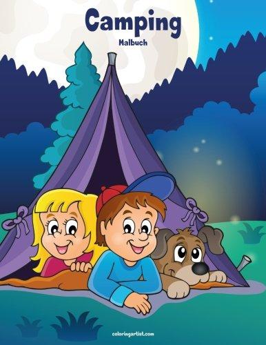Camping-Malbuch 1