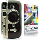CaseiLike� Camera Retro Vintage Style, Snap-on hard case back cover for Samsung Galaxy S3 mini i8190 with Screen Protector