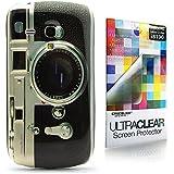 CaseiLike ® Kamera Retro Vintage Style, Snap-on wieder Gehäuse für Samsung Galaxy S3 Mini i8190 mit Displayschutzfolie 1pcs.