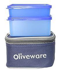Oliveware Nano Lunch Box Blue