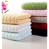 XNWP-4pc Pack solido di lusso completo lavaggio cotone asciugamano Super Soft Easy Care 13,4