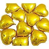 duyou Amour En Forme De Coeur Feuille D'Aluminium Film D'Aluminium Confession Ballon Arrangement De Mariage Arrangement De Décoration D'Anniversaire Or 30