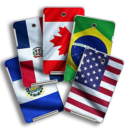 atFolix Designfolie kompatibel mit Asus MeMO Pad HD 7, Skin Aufkleber (Flaggen aus Amerika)